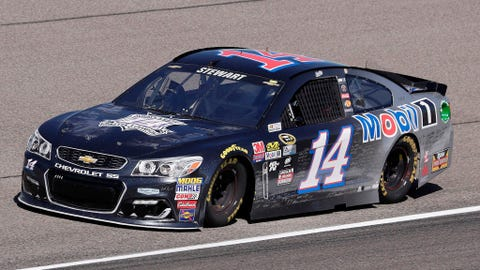 The special paint scheme he's running this weekend