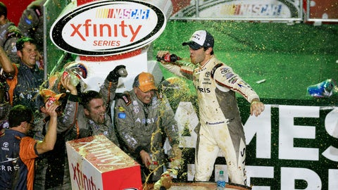 Celebrating a championship