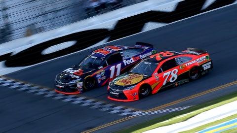 .010 seconds at Daytona 500