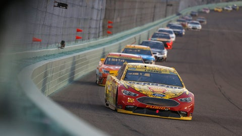 Logano charges