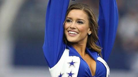 Cowboys cheerleader