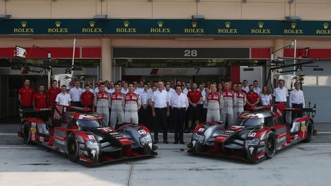Audi's final race