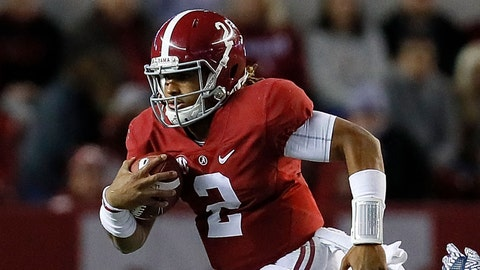 Alabama QB Jalen Hurts
