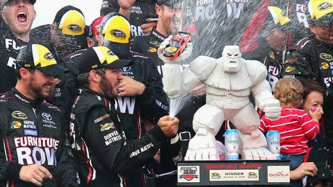 Martin Truex, Jr., Dover International Speedway