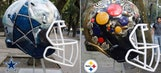 Every NFL helmet reimagined and hand-painted by Mexican artists