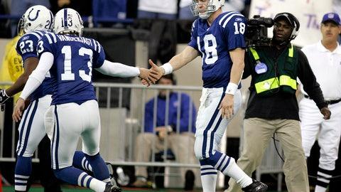Peyton Manning on former Colts kicker Mike Vanderjagt