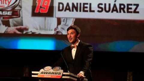 XFINITY Series champion: Daniel Suarez