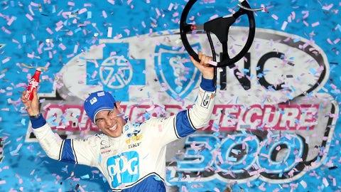 Joey Logano, Charlotte Motor Speedway