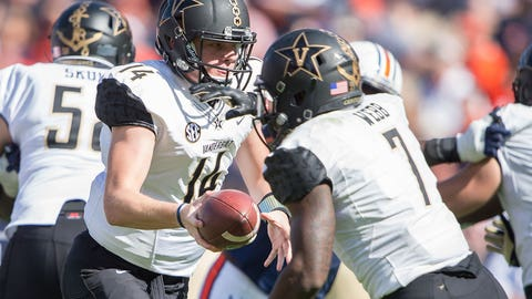 Quick Lane Bowl: Maryland vs. Vanderbilt