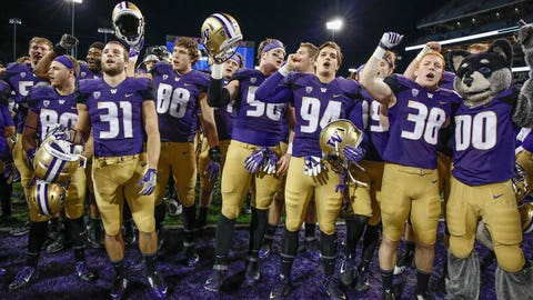 Washington has to feel good if it wins the Pac-12 title game?