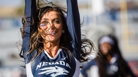 Nevada cheerleader