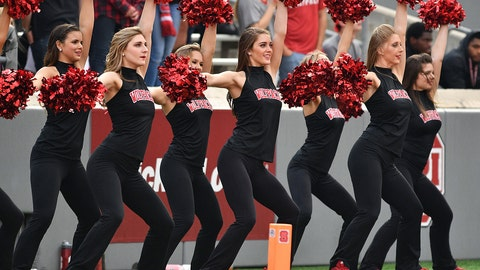 North Carolina State cheerleaders