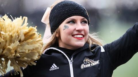 Western Michigan cheerleader