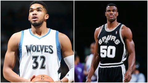 Karl-Anthony Towns, Minnesota Timberwolves: David Robinson