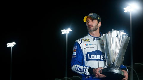 Jimmie Johnson media tour