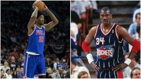 Joel Embiid, Philadelphia 76ers: Hakeem Olajuwon