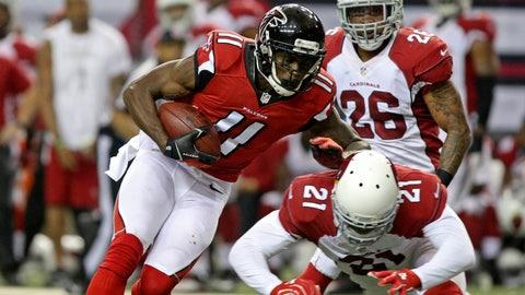 Arizona Cardinals at Atlanta Falcons, 1 p.m. FOX (Sunday Ticket channel 709)
