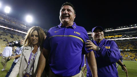 Ed Orgeron, LSU head coach