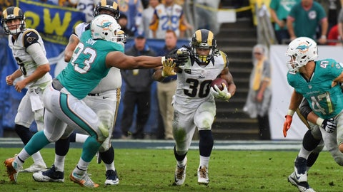 Miami Dolphins: Run defense