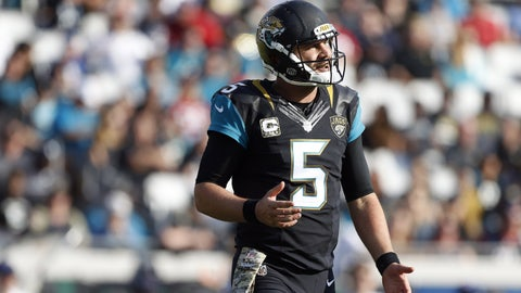 How big of a nightmare is this season, Blake Bortles?