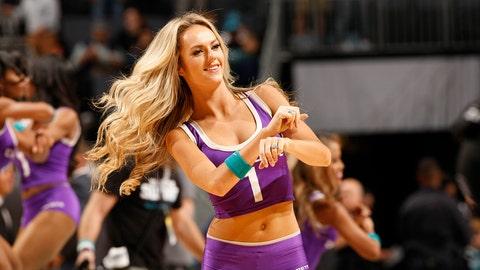 Hornets dancer