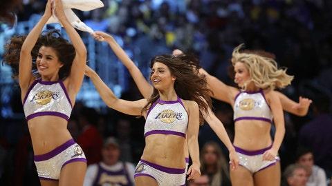 Lakers dancers