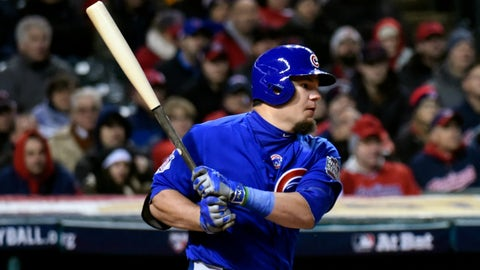 "Kyle Schwarber (Cubs): Bone Thugs-n-Harmony ""Thuggish Ruggish Bone"""