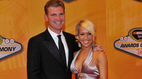 Clint Bowyer and now-wife Lorra, 2010