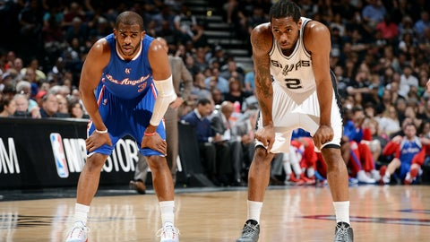 Chris Paul to the San Antonio Spurs with Kawhi Leonard, LaMarcus Aldridge