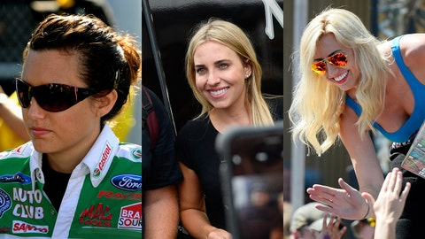 Ashley, Brittany and Courtney Force
