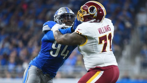 Offensive tackle: Trent Williams, Redskins