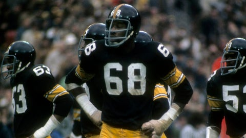 DE: L.C. Greenwood, Steelers