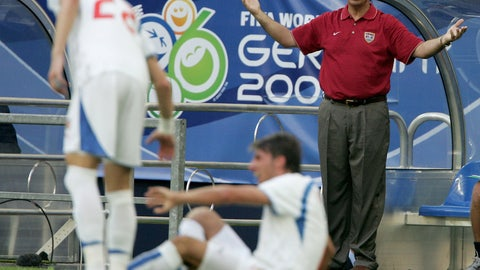 June 2006 — Crashing out of the World Cup
