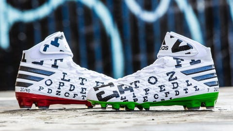 73348fbd2b45 Check out the custom cleats NFL players are wearing for a good cause in  Week 13