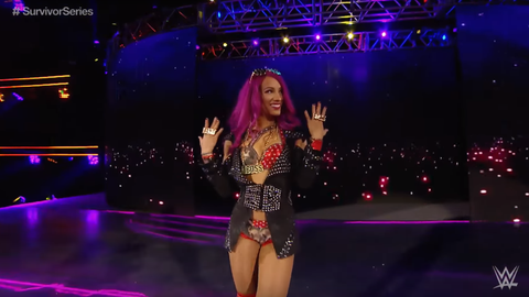 Women's 5v5 - Team Raw: Sasha Banks