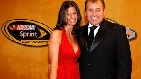Ryan Newman and wife Krissie, 2011
