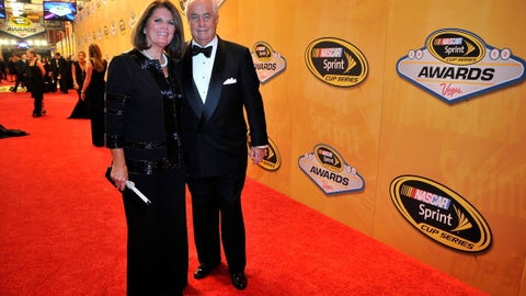 Roger Penske with wife Kathy, 2012