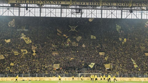 Borussia Dortmund's Westfalenstadion