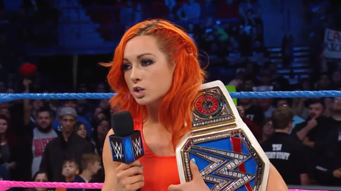 Women's 5v5 - Team SmackDown: Becky Lynch