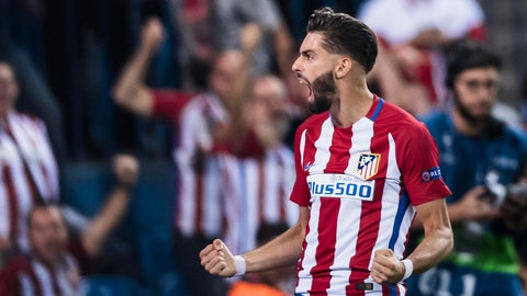 MF: Yannick Carrasco, Atletico Madrid