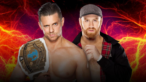 The Miz vs. Sami Zayn for the Intercontinental Championship