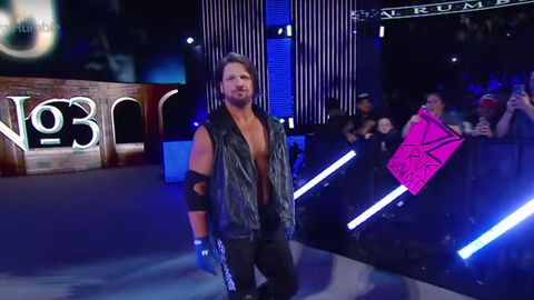 Men's 5v5 - Team SmackDown: AJ Styles