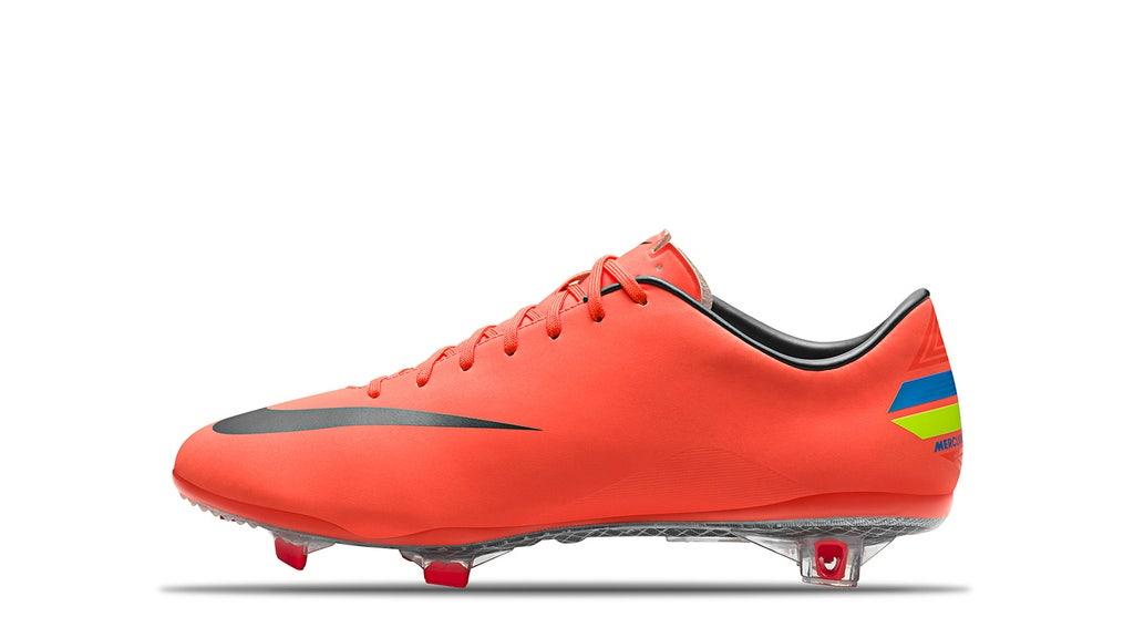 All of the boots Cristiano Ronaldo wore