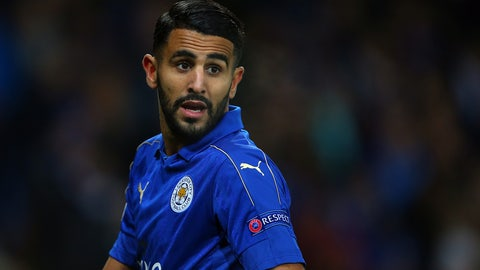 MF: Riyad Mahrez, Leicester City
