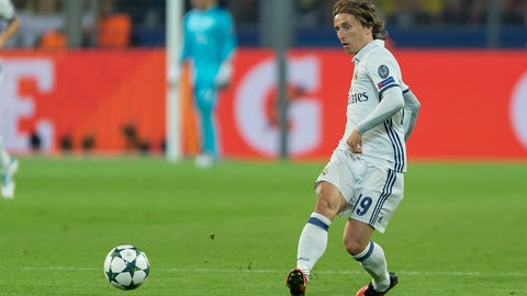 MF: Luka Modric, Real Madrid