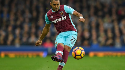 MF: Dimitri Payet, West Ham United