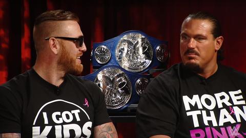 Tag team 5v5 - Team SmackDown: Heath Slater and Rhyno
