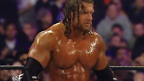 Triple H had a Hulk Hogan-level tan.