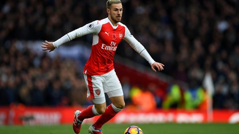 MF: Aaron Ramsey, Arsenal