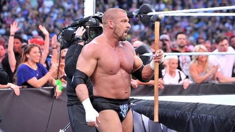 Triple H's sledgehammer
